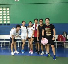This is Kathryn Bernardo and Daniel Padilla with their friends from ABS-CBN and Star Magic as they prepare to play games of badminton and lawn tennis somewhere in Metro Manila last March 2016 or April 2016. Indeed, Kathryn and Daniel had a good time playing badminton and lawn tennis with their friends. :-) #KathNiel #badmintongame #lawntennisgame Badminton Games, Inigo Pascual, Daniel Johns, Enrique Gil, Lawn Tennis, Star Magic, Daniel Padilla, John Ford, Liza Soberano