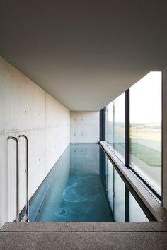 The Bunkers indoor pool