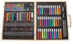 Darice ArtyFacts Portable Art Studio, Deluxe Art Set With Wood Case: Arts, Crafts & Sewing Art Sets For Kids, Jüngstes Kind, School Memories, Childhood Memories Quotes, 90s Childhood, Sweet Memories, 90s Kids, Kids Toys, Best Artist