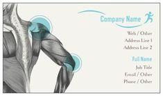 Illustration Gray Standard Business Cards, Sports Massage Standard Business Cards | Vistaprint
