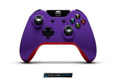 Xbox One controler Purple/Red
