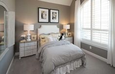 A calming guest retreat. Mustang Lakes 60s // Celina, TX // Highland Homes // Plan 242