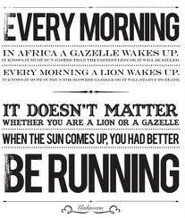 Fun running motivation
