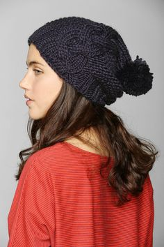I discovered this Chunky Cable-Knit Beanie on Keep. View it now.