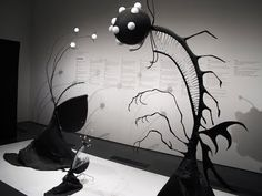From the Tim Burton art show at LACMA (squee)