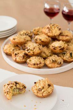 Mini quiches met prei en gehakt