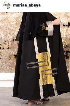 دیزاین عبا Mode Abaya, Mode Hijab, Modesty Fashion, Abaya Fashion, Casual Dress Outfits, Fashion Outfits, Estilo Abaya, Iranian Women Fashion, Abaya Designs