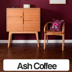 Tuscan Ash Coffee Oak Lacquered 1-Strip Engineered Wood Flooring