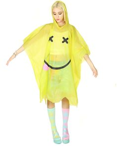 ACID FACE #PONCHO at shopjeen.com Space Grunge, My Style, Face, Clothes, Collection, Shopping, Products, Fashion, Drawing Drawing