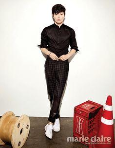 Kim Jae-wook // Marie Claire Korea // September 2013