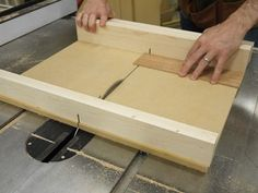 Learn Matt Kenneys second fence secret for a perfect crosscut sled. - CLICK TO ENLARGE