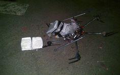 Se trata del primer caso en que se detecta que un dron es usado para el transporte de drogas a E.U. FOTO AP