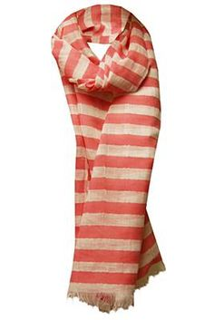 Weekend by MaxMara Orlo Pink Striped Scarf http://www.youngideasfashion.com/store/product/12916/Weekend-by-MaxMara-Orlo-Pink-Striped-Scarf/