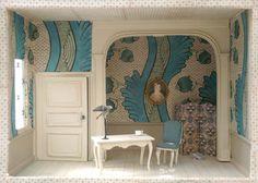 Antoinette Poisson : Maquette d'intérieur