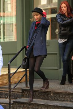 Taylor Swift Street Style – Out in NYC – March 2014