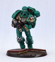 54mm, Inquisitor, Space Marines, Warhammer 40,000