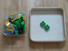 """Teaching Counting Objects with """"Counting Tray"""""""