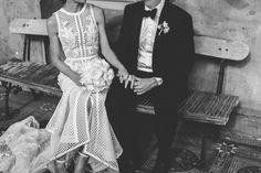 Kate & Josh's Melbourne City Wedding / Photography by Beck Rocchi / View on The LANE