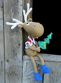 Hola!! ¿Cómo están? Pensaba que había dejado atrás todos los tejidos navideños, pero no, me faltó mostrarles uno... se trata de un alocad...