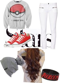 """pokemon."" by the-fashion-guru-forever ❤ liked on Polyvore"