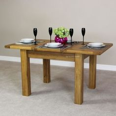 Rustic-Oak-Small-Extending-Dining-Table-Seats-4-6-People-Dining-Furniture-RS38