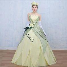 Princess Tiana Adult Costume Dress