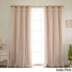 The perfect curtains for my little girl's room