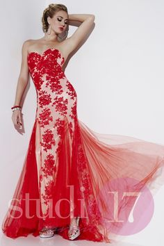 fe0f418b90 Score a winning look with this Studio 17 12506 prom dress