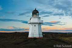 The Waipapa Point Lighthouse on the Catlins Coast in Southland