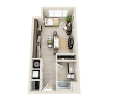 Studio Apartment Floor Plans 15 inspirations floor plans | small spaces, tiny houses and spaces