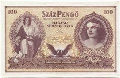 100 Pengö 1943 (Mädchenportrait) Ungarn Königreich