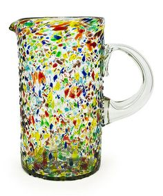 Look what I found on #zulily! Confetti Recycled Pitcher by Bambeco #zulilyfinds
