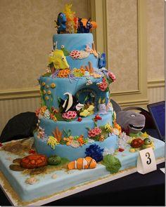 Finding Nemo Cake.