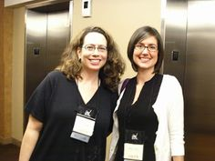 Seekerville's Roving Reporters Bring Home the Scoop from ACFW 2015 with guests Natalie Monk and Courtney Ballinger. Photo of LI editors Melissa Endlich and Shana Asaro