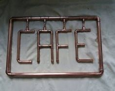 Custom made copper signs for your business or home