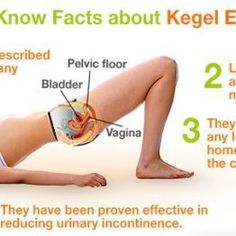 Learn how to do Kegel exercises correctly. Train your pelvic floor muscles. Tighten your vagina, prevent urinary incontinence, pelvic floor prolapse - Video Fitness Workout For Women, Body Fitness, Workout Men, Fitness Tips, Pelvic Floor Exercises For Prolapse, Pc Muscle Exercises, Keigel Exercises, How To Do Kegels, Urinary Incontinence