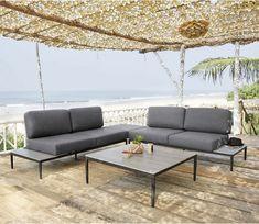 Aluminium and Composite Garden Armchair   Garden furniture ideas ...