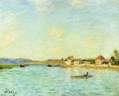 Sylvia C. Sosnovska Fine Artist: Alfred Sisley and the Landscape Painting