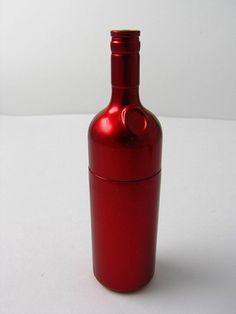 wine bottle usb drive   by PremiumUSB