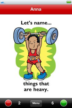 Let's Name Things Fun Deck FREE app. - Pinned by @PediaStaff – Please Visit  ht.ly/63sNt for all our pediatric therapy pins