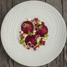 Cervena venison and beetroot ravioli raspberry pickled hazelnuts and goat cheese by @pjrollinson Tag your best plating pictures with #armyofchefs to get featured! ------------------------ #foodart #truecooks #foodphoto #chefsroll #chefsofinstagram #foodphotography #hipsterfoodofficial #foodphotographer #gastroart #wildchefs #delicious #instafood #instagourmet #gourmet #theartofplating #gastronomy #foodporn #foodism #foodgasm #plating #f52grams #picsoftheday #dishoftheday #hautecuisines…