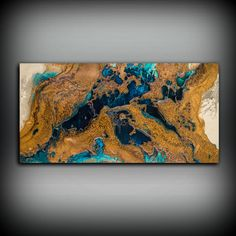 Giclee Abstract Fine Art Print from Original by LDawningScott