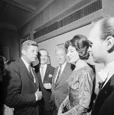 President John F Kennedy at dinner for Senator Warren Magnuson New 8x10 Photo