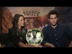 Maze Runner: The Scorch Trials Cast Superlatives - YouTube