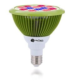 LED Grow Light Bulb for Indoor Gardening Hydroponics Greenhouse SystemsGreat for Growing Herbs Succulents Fruits Vegetables Seedlings and Houseplants 12W *** Visit the image link more details.