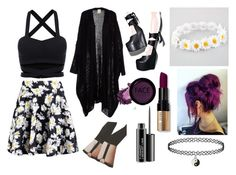 """""""Untitled #18"""" by theunikraken on Polyvore featuring Boohoo, Full Tilt, Lord & Taylor, FACE Stockholm and MAC Cosmetics"""