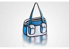 Siempre Quise Uno: Bolsa 2D Azul - Kichink!
