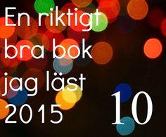 Mias bokhörna: Julkalenderbloggstafetten Lucka 10
