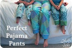 Perfect Pajama Pants via TheSewingLoft.com - great tips for special finishes