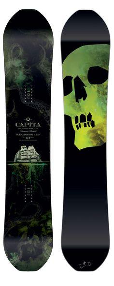 CAPiTA The Black Snowboard of Death Snowboard 2017